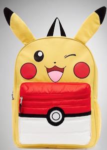 Pokemon Pikachu And Poke Ball Backpack