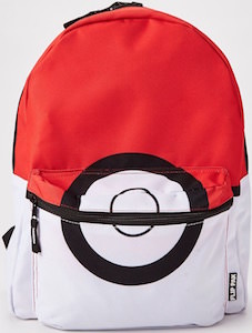 Pokemon Reversible Poke Ball Backpack