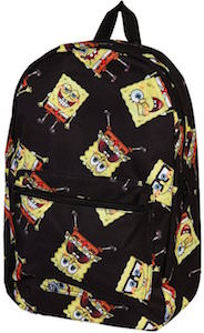 SpongeBob Squarepants Tossed Around Backpack