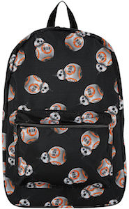 Star Wars Black BB-8 Backpack