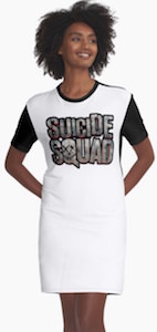 Suicide Squad Logo Dress