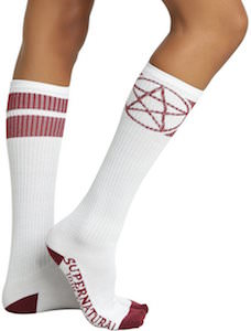Supernatural Devils Trap Socks