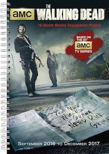 2017 The Walking Dead Planner