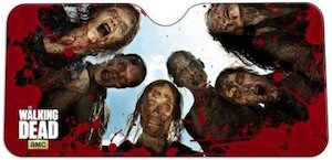 The Walking Dead Walkers Car Sun Shade