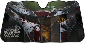 Star Wars Boba Fett Car Sun Shade