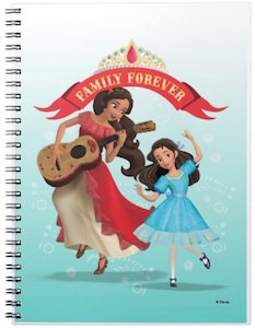 Princess Elena And Isabel Family Forever Notebook