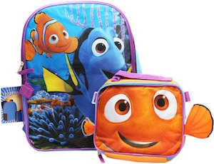 Finding Dory Backpack And Lunch Bag Set