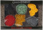 Game of Thrones 6 Piece Cookie Cutter Set