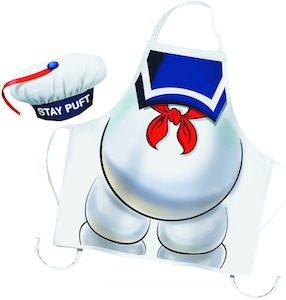 Stay Puft Marshmallow Man Apron And Hat