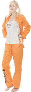 Suicide Squad Harley Quinn Bravo Detainee Costume