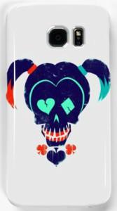Harley Quinn Suicide Squad Skull Samsung Case