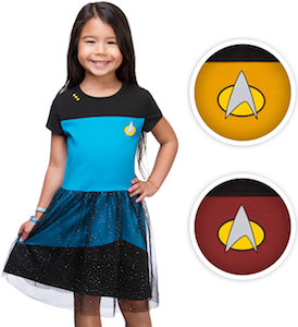 Star Trek Kids Costume Dress