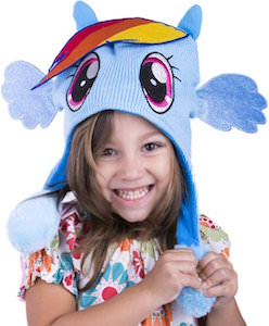 My Little Pony Rainbow Dash Flipeez Hat