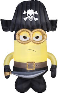 Pirate Minion Outdoor Inflatable