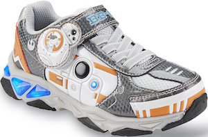 Star Wars BB-8 Light Up Kids Shoes