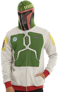 Star Wars Boba Fett Hoodie With Backpack