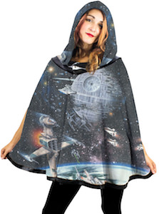 Star Wars Galaxy Reversible Hooded Poncho