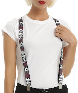 The Nightmare Before Christmas Suspenders