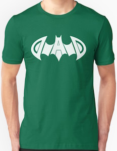 Batman Dad Logo T-Shirt