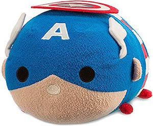 Captain America Medium Tsum Tsum Plush
