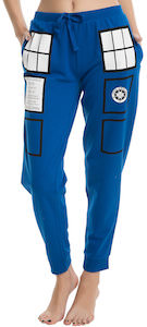 Doctor Who Tardis Jogger Pants