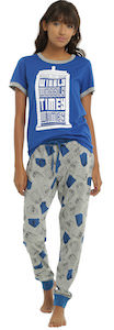 Doctor Who Wibbly Wobbly Timey Wimey Women's Sleep Set