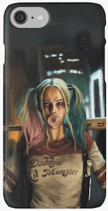 Harley Quinn Painting iPhone Case