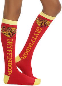 Harry Potter Gryffindor Knee Socks