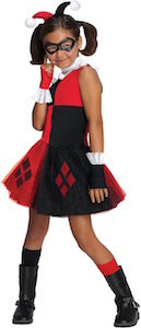 DC Comics Kids Harley Quinn Tutu Dress Costume