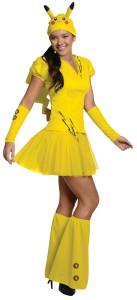 Pokemon Pikachu Women's Costume