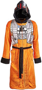 Star Wars X-Wing Pilot Bath Robe