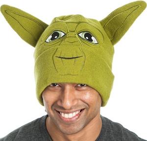 Star Wars Green Yoda Beanie Hat