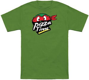 TMNT Raphael Pizza Time T-Shirt