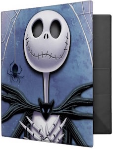 Avery Jack Skellington Binder