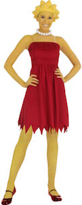 Lisa Simpson Women's Halloween Costume