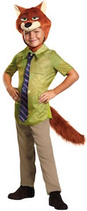 Disney Zootopia Kids Nick Wilde Halloween Costume