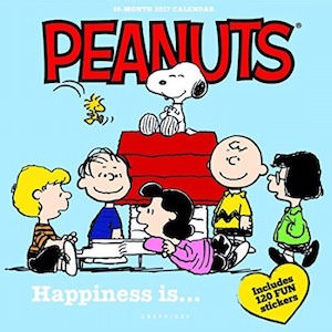 2017 Peanuts Happiness Is Wall Calendar