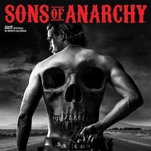 2017 Sons Of Anarchy Wall Calendar