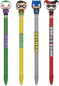 Classic Batman Funko Pop Pen Topper Set Of 4