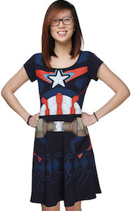 Captain America Age Of Ultron Costume Dress