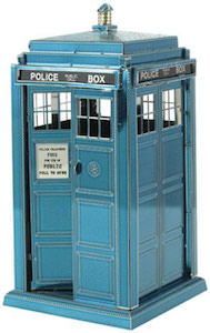 Doctor Who Metal Tardis Model