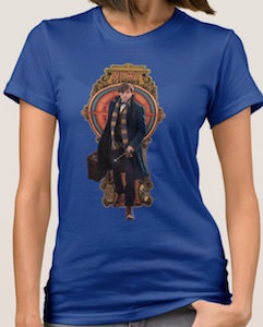Fantastic Beasts and Where to Find Them Newt Scamander T-Shirt