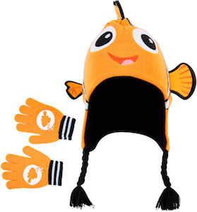 Finding Nemo Hat And Glove Set For Kids