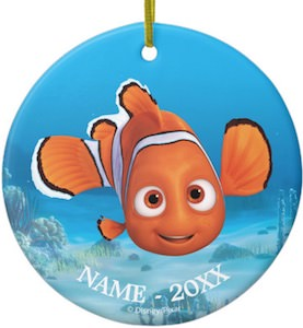 Finding Nemo Personalized Ornament