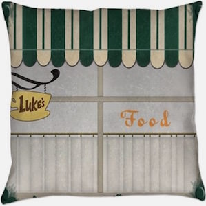 Gilmore Girls Luke's Diner Pillow