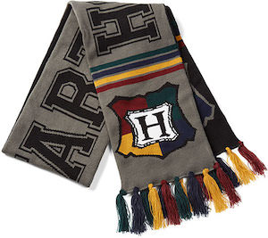 Harry Potter Reversible Hogwarts Scarf