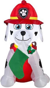 PAW Patrol Marshall Christmas Outdoor Inflatable