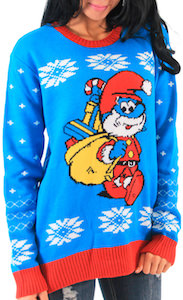 Papa Smurf Christmas Sweater