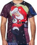 The Joker As Santa Christmas T-Shirt