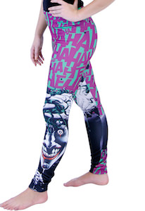 The Joker Laughing Leggings